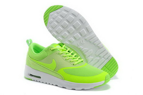 Womens Nike Air Max Thea Apple Green Cheap